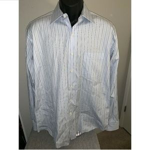 Tommy Bahama Mens button front L/S Shirt 16 34/35